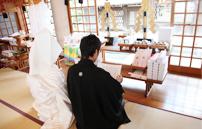 勝田神社 挙式風景